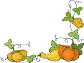 Pumpkins — Stock Vector