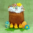 Stock Photo: Easter tradition food
