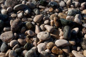 Wet pebbles background — 图库照片