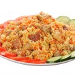 Royalty-Free Stock Photo: Rice with meat