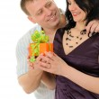 Gift to the woman — Stock Photo #3118340