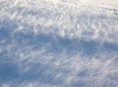 Drifting snow — Stock Photo