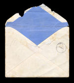 Tattered envelope — Stock Photo