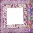 Stock Photo: Picture frame for Valentine's Day