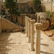 Ruins of the ancient Romans street — Stock Photo