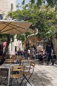 Street Scene in Jerusalem Old City. — Stock Photo