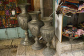 Arabic market in Christian Quarter of Jerusalem, Israel. — Stock Photo