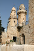 Church Of Dormition On Mount Zion,Jerusalem, Israel. — Foto de Stock