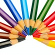 Stock Photo: colored pencils