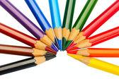 Lápis coloridos — Fotografia Stock