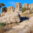 Remains of ancient walls — Stockfoto