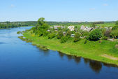 River Western Dvina in Belarus — Stock Photo