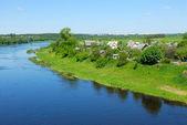 River Western Dvina in Belarus — Stock Photo