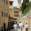 The street of the old Jerusalem — Stock Photo