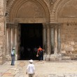 Royalty-Free Stock Photo: Entrance to the Church of the Holy Sepulchre