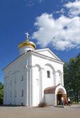 The Holy Transfiguration Church of the Saviour and st.Evphrosini — Stock Photo