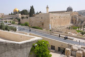 View of the Temple Mount, Jerusalem — Stock Photo