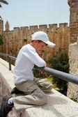 в старом городе иерусалима — Стоковое фото