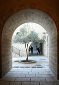 Fragments of the old city — Stock Photo