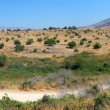 Panorama of the northern border of Israel — Stock Photo