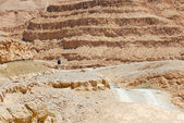 In the Makhtesh Ramon — Stock Photo