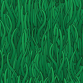 Abstract background of green grass — Stock Vector