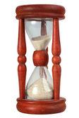 Relógios de areia à moda antiga — Foto Stock