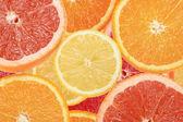 Abstrato de fatias de citrinos — Foto Stock
