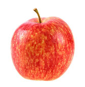 Single a red-yellow apple — Stock Photo