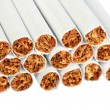 Heap of cigarettes — Stock Photo