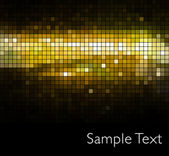Altın iş mozaik. — Stok Vektör