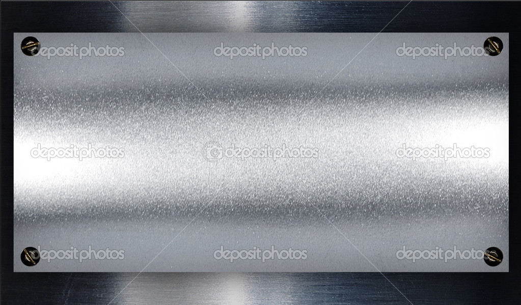 Metal plate steel background. — ストック写真 #3525609