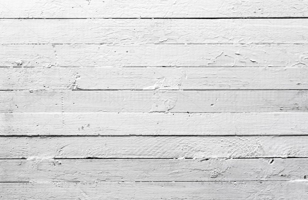 Grunge background from painted white wooden plank texture — Stock Photo #2725834