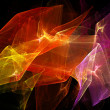 Bright dynamic abstract background — Foto Stock