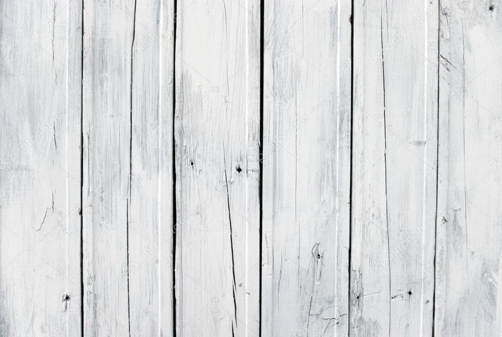 A background of weathered white painted wood — Stock Photo #3211388