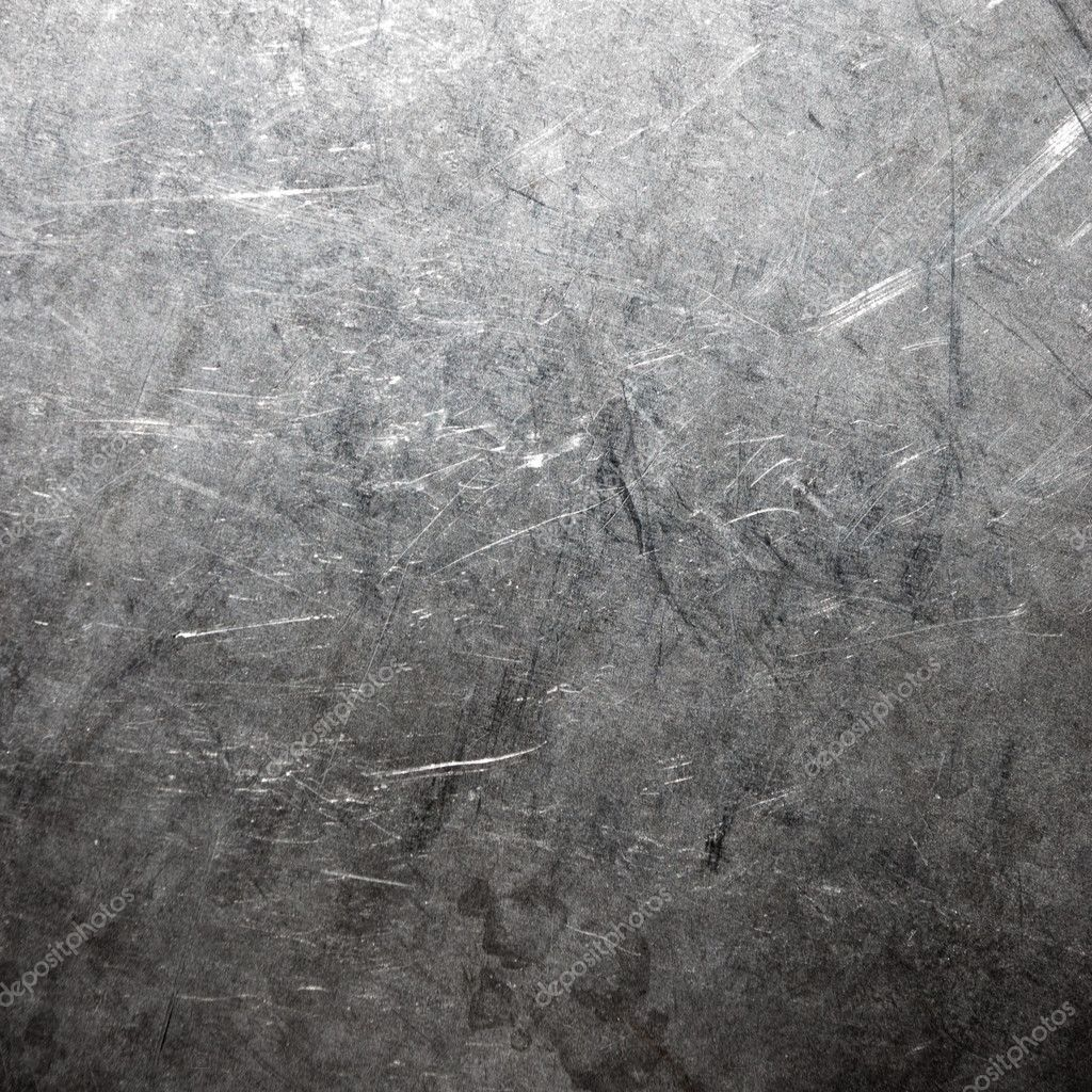 Scratched and spotted a metal aluminium sheet — Stock Photo #3347754