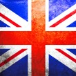 Grunge flag of United kingdom — Foto de Stock