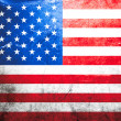 Grunge flag of USA — Stock Photo #3392710