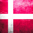 Stock Photo: Grunge flag Denmark