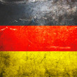 Stock Photo: Grunge flag of Germany
