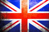 Grunge flag of United kingdom — Stock Photo