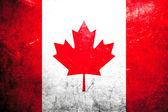 Grunge flag Canada — Stock Photo