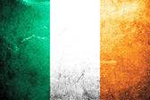 Grunge flag of Ireland — Stock Photo