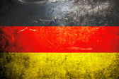 Grunge flag of Germany — Stock Photo