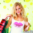 Beautiful girl with shopping bags — Stock Photo #3751526
