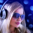 Stock fotografie: Girl with headphones