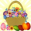 Royalty-Free Stock Imagem Vetorial: Easter Basket (vector)