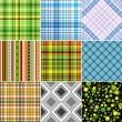 Set colorful seamless patterns — Stock Vector #2943839