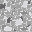 Seamless grey pattern — Stockvektor