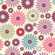 Seamless floral pastel pattern — Stock Vector #3091019
